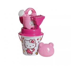 Κουβαδάκι Hello Kitty με αξεσουάρ (1335-00HK)