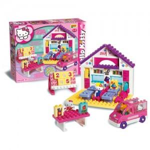 Unico Plus Hello Kitty Σχολείο 89τεμ. (8668-00HK)