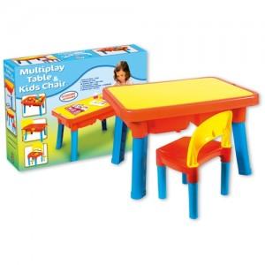 Τραπέζι Πλαστικό με Καρέκλα (8901-0000)