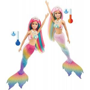 Barbie Γοργόνα Μεταμόρφωση Ουράνιο Τόξο (GTF89)