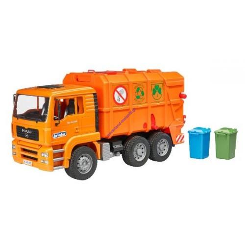 Απορριμματοφόρο Man πορτοκαλί (02760)