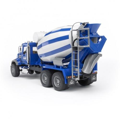 Μπετονιέρα Mack μπλε (02814)