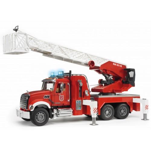Φορτηγό πυροσβεστικής με πραγματική μάνικα νερού (02821)