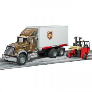Φορτηγό Mack UPS με κλαρκ (02828)