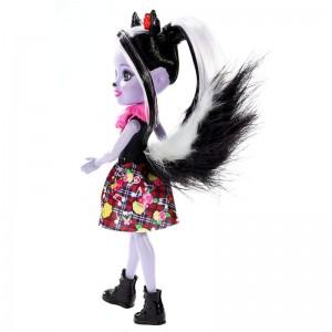 Enchantimals Κούκλα και Ζωάκι Φιλαράκι Sage Skunk & Caper (FXM72/DVH87)