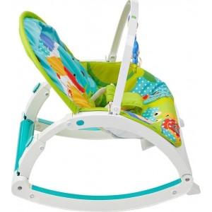Fisher Price Rainforest Friends Newborn To Toddler Ριλάξ/Κούνια (CMR10)