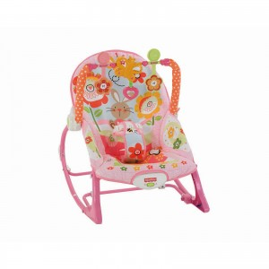 Fisher Price Infant To Toddler Ροζ Κούνια (Y8184)
