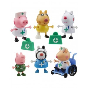 Peppa Pig Σετ Φιγουρών Γιατροί (PPC95000)