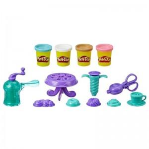 Play Doh Kitchen Creations Νόστιμα Ντόνατς Σετ Με 4 Χρώματα (E3344)