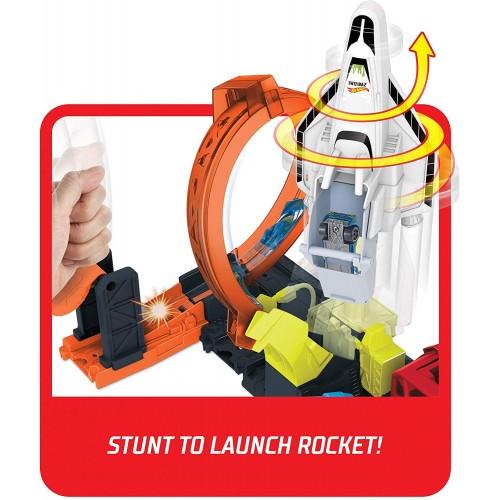 Hot Wheels Πίστες City Super Rocket Blast-Off (GTT75/FNB15)