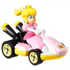 Hot Wheels Αυτοκινητάκια Mario Kart Princess Peach (GBG28/GBG25)