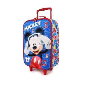Βαλίτσα Ταξιδίου Mickey 3D Music (00372)