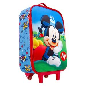 Βαλίτσα Ταξιδίου Mickey Let's Go (02101)