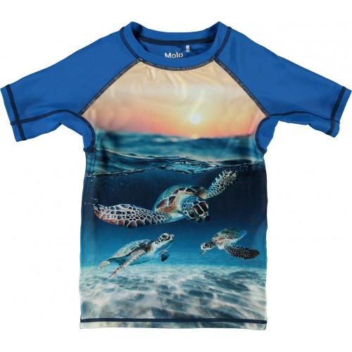 Molo Μπλούζα Anti-UV Neptune Sea Turtle Sunset (8S21P205-7342)