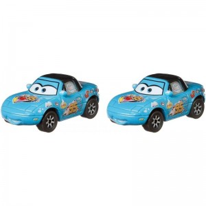 Cars Next Generation Racers Dinoco Mia and Dinoco Tia (GKB77/DXV99)
