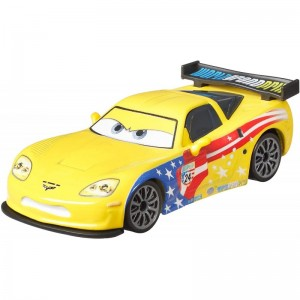 Cars 3 Metal Jeff Gorvette Vehicle (GBY03/DXV29)