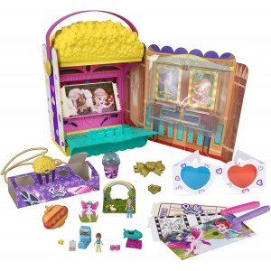 Polly Pocket Cinema Pop Corn (GVC95/GVC96)