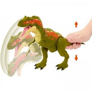 Jurassic World Δεινόσαυροι Με Κινούμενα Μέλη Και Λειτουργία Επίθεσης Albertosaurus (GVG67/GJP32)