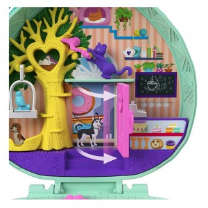 Polly Pocket Mini - Hedgehog Cafe (GTN15/FRY35)