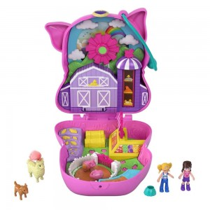 Polly Pocket Mini - On The Farm Piggy (GTN16/FRY35)