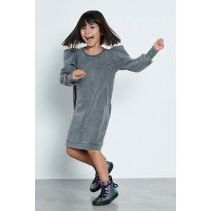 Φόρεμα Φούτερ Γκρι (MRW22-1100)