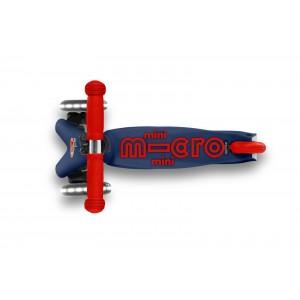 Πατίνι Mini Midro Deluxe LED Navy Blue (MMD118)