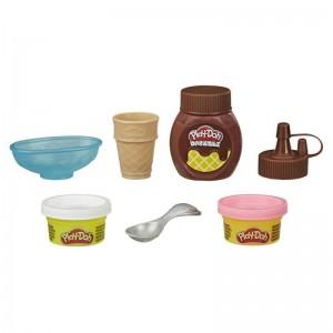 Play Doh Mini Drizzle Ice Cream Playset (F0654)