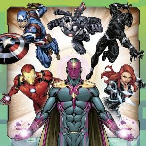 Puzzle 3x49 Avengers (08040)