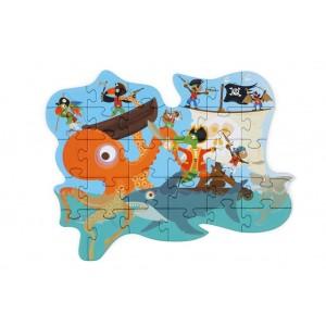 Scratch Puzzle Μini 29τεμ Pirate (6181191)
