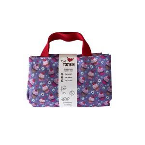 Τσάντα αποθήκευσης Toy Bin Cup cakes (CC71108)