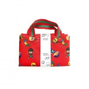 Τσάντα αποθήκευσης Toy bin Heroes (CC81508)