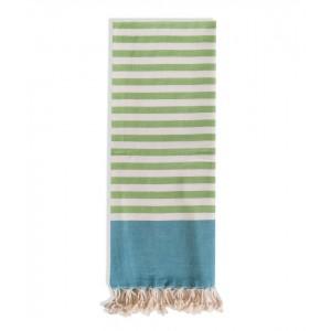 Πετσέτα Θαλάσσης Towel To Go Μπλε Πράσινη (TTGNEON008)