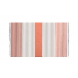 Πετσέτα Θαλάσσης Towel To Go Πορτοκαλί Μπεζ (TTG3TR)