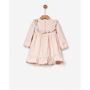 Φόρεμα με Βολάν Shell Pink (41170140049)