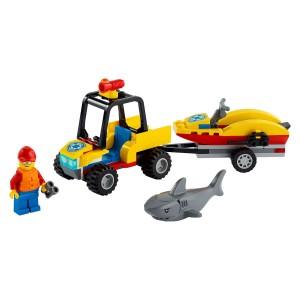 Lego City Beach Rescue ATV (60286)