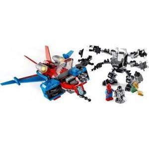 Lego Super Heroes Spiderjet Vs. Venom Mech (76150)