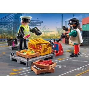 Playmobil Τελωνειακός Έλεγχος (70775)