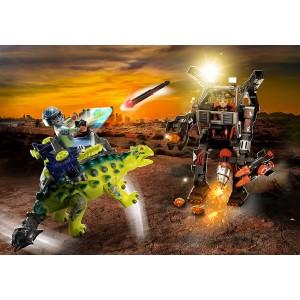 Αγκυλόσαυρος με μαχητή εναντίον ρομπότ (70626)
