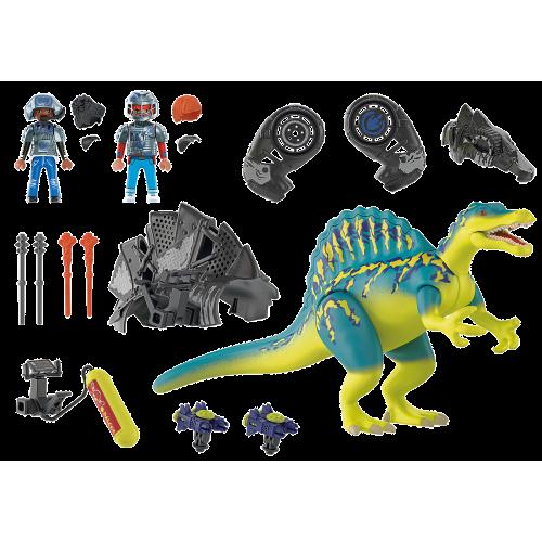 Σπινόσαυρος με διπλή πανοπλία (70625)
