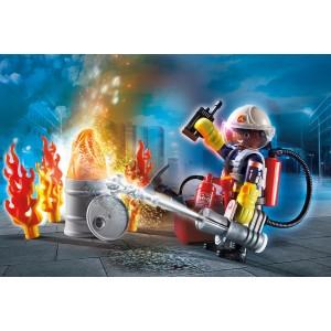 "Gift Set ""Πυροσβέστης με αντλία νερού"" (70291)"