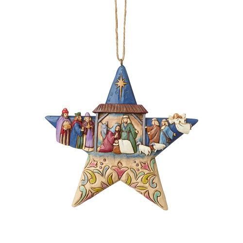 Στολίδι δέντρου Nativity Star (6003340)