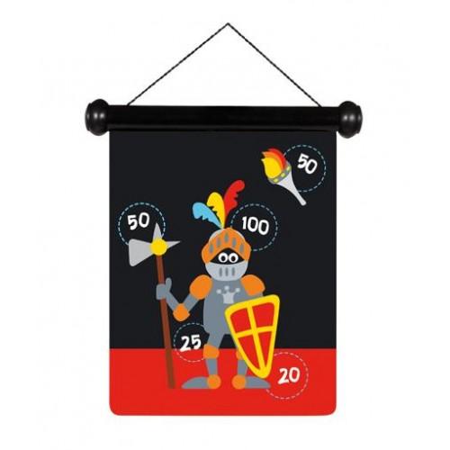 Scratch Στόχος Μαγνητικός 2 όψεων Small Ιππότης (6182012)