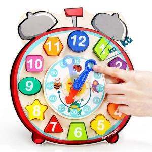 Top Bright Ρολόι puzzle 12τεμ (120351)