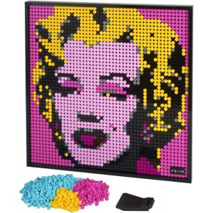 Lego Art Andy Warhol's Marilyn Monroe (31197)
