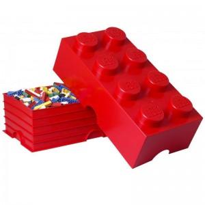 Παιχνιδόκουτο Lego 8 Red (299019)