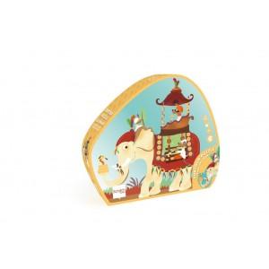 Scratch Puzzle Contour 37τεμ Ελέφαντας (6181129)