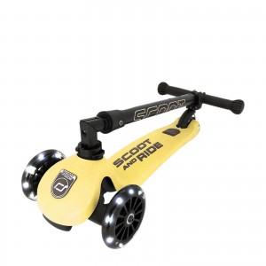 Πατίνι Scoot and Ride Highwaykick 3 LED Lemon (96358)