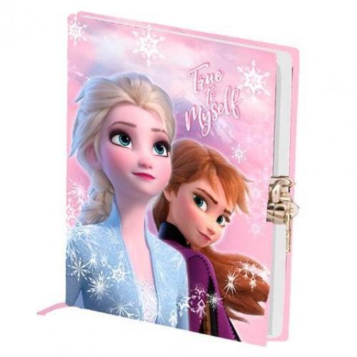 Ημερολόγιο Frozen με κλειδωνιά Frozen (37390)