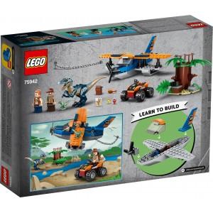 Lego Jurassic Velociraptor: Biplane Rescue Mission (75942)
