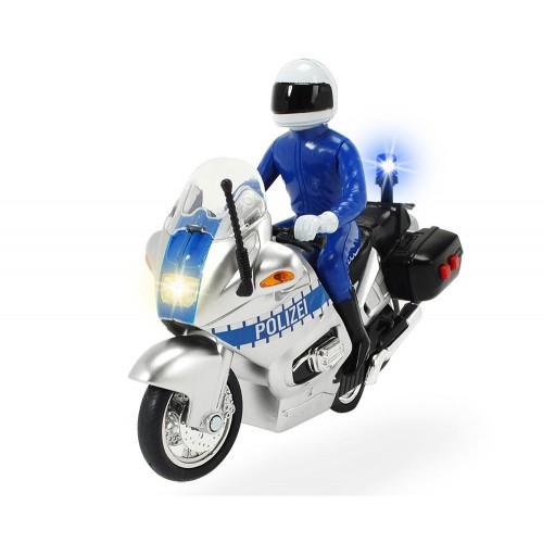 Dickie Μηχανή Αστυνομίας Pull Back με ήχο και φώτα (203712004)